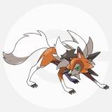 ポケモン剣盾_ルガルガン(たそがれのすがた)