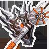 復讐の盾槍