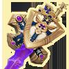 紫羅欄の槍