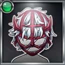 ロデオマスク(赤茶)
