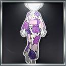 浴衣_紫牡丹