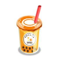 タピオカオレンジジュース_アイコン
