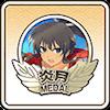 炎月メダル