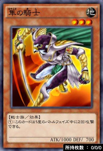 隼の騎士のカード画像