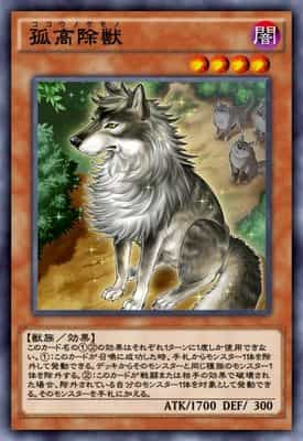 孤高除獣のカード画像