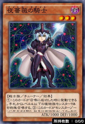 夜薔薇の騎士のカード画像