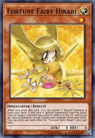 占い魔女 ヒカリちゃんのカード画像
