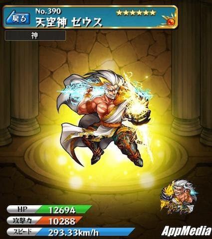 天空神ゼウス