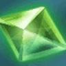 緑の大結晶