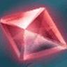 赤の大結晶