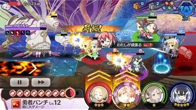 ゆゆゆい_ゲーム画面1