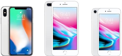 iPhone8サイズ比較