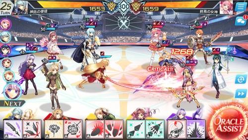 UNITIA_神託の使徒×終焉の女神、ゲームシステム