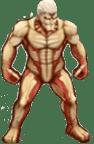 鎧の巨人の像