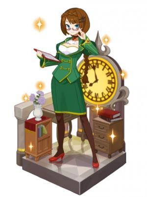 時空の女神ヴェルダンディ