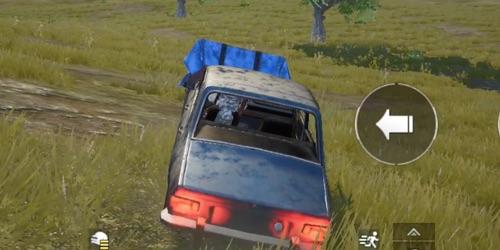PUBGモバイル、車の乗り方降り方 2