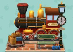 機関車の停留所
