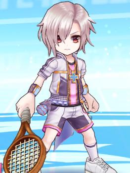 ヨシュア_立ち絵_白猫テニス