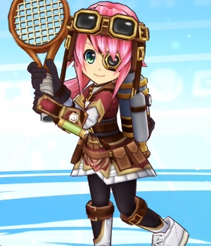 レクエルド_立ち絵_白猫テニス