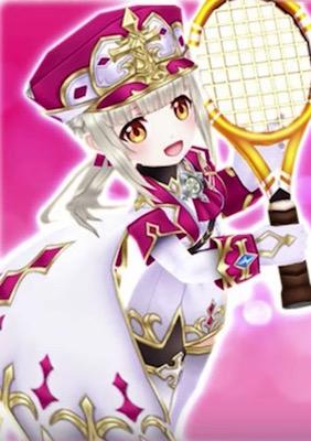 白猫テニス_聖女ルウシェ_仮立ち絵