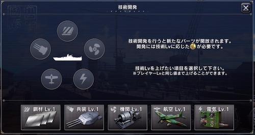 艦つく_技術開発