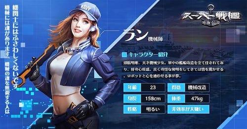スーパー戦艦_ラン