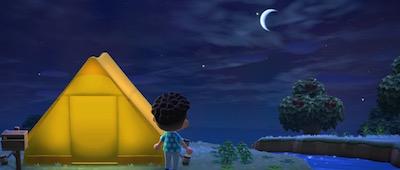 住人のテント あつ森