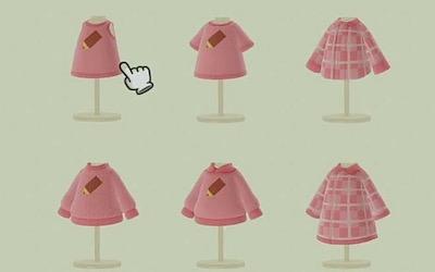 あつ森 女王の服