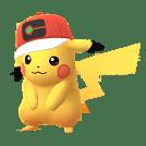 ポケモンGO_2020サトシ帽子ピカチュウ