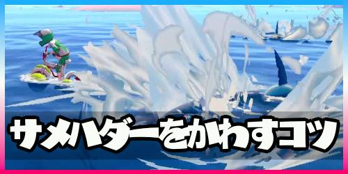 ポケモン剣盾_鎧の孤島_サメハダーかわすコツ