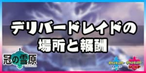 ポケモン剣盾_デリバードレイドアイキャッチ