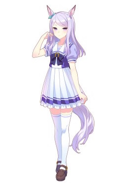 ウマ娘_メジロマックイーン_制服