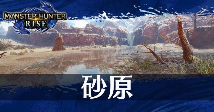 モンハンライズ_マップ_砂原_banner