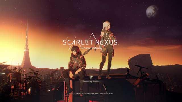 『SCARLET NEXUS』無料体験版の配信が決定!さらに主人公を演じる榎木淳弥さん、瀬戸麻沙美さんからのコメント動画も公開!