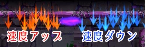 モンスト_ジューダスギミック_速度変化ウォール